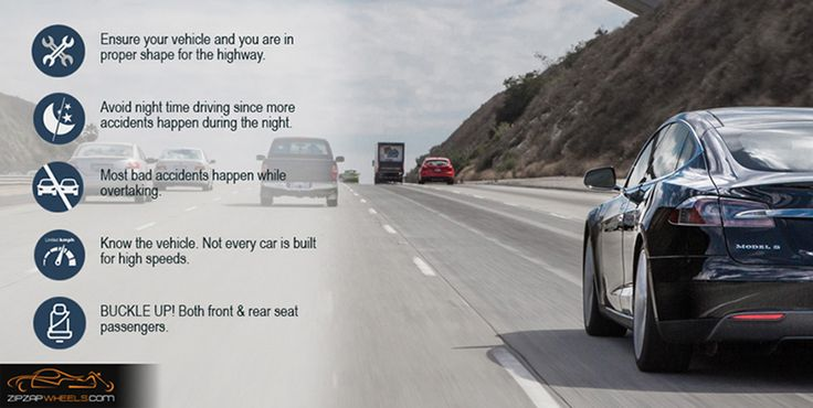5 Tips On Safe Highway Driving
