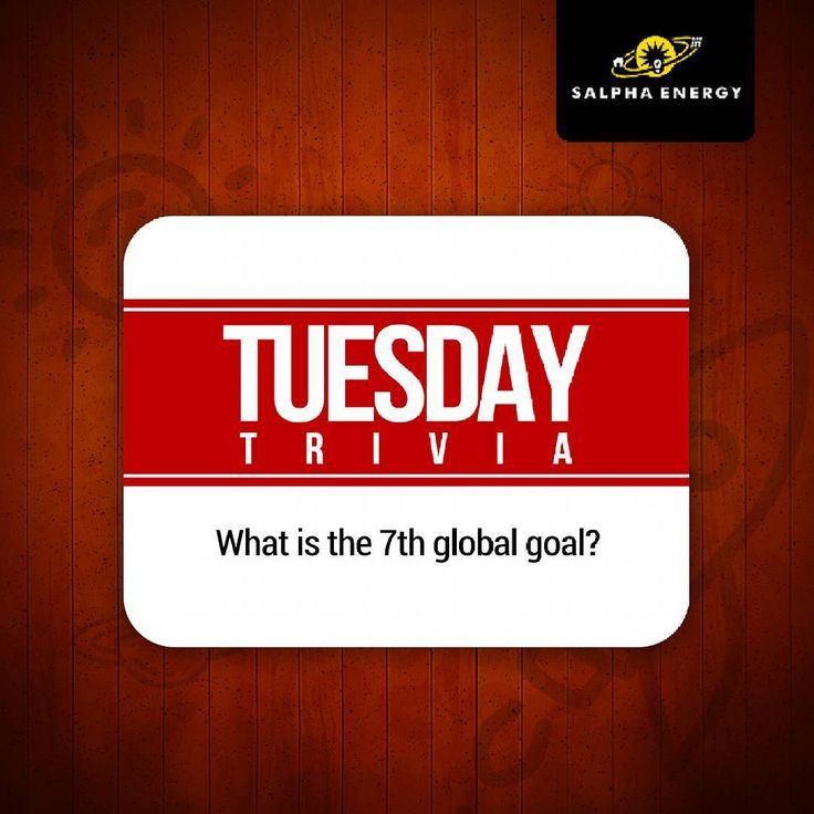 What is the 7th global goal?  To participate:  Like & follow our page.  Give the answer in the comment section & tag at least 3 friends.  Be ready to pick up prize in Lagos.  #TuesdayTrivia #SDGs #CleanEnergy #SolarEnergy #TriviaTuesday #prize #GlobalGoals #Sustainability #cleanenvironment #sustainables