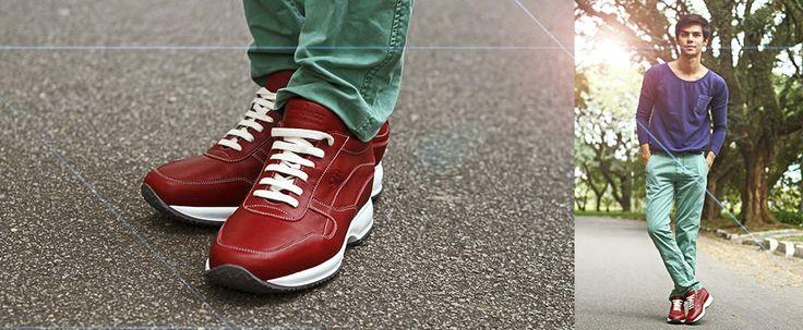 En cuir, fabriqués en Italie, ces chaussures réhaussantes GuidoMaggi vous apporteront confort et centimètres en plus !  http://www.chaussuresrehaussantes.fr/