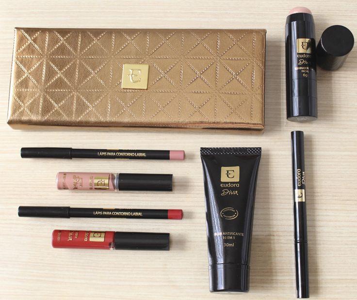 Eudora lança linha de maquiagem Diva