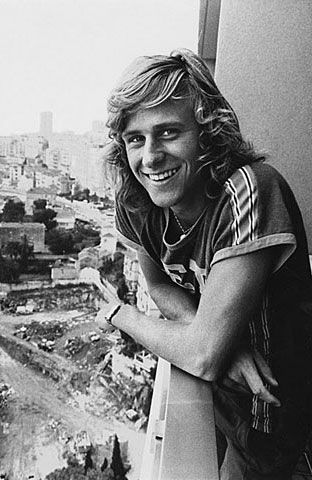 Mr Never Give Up, young Bjorn Borg