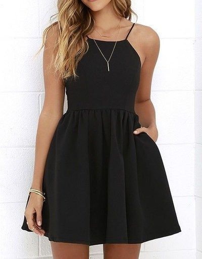 25  best ideas about Black cocktail dress on Pinterest | Black ...