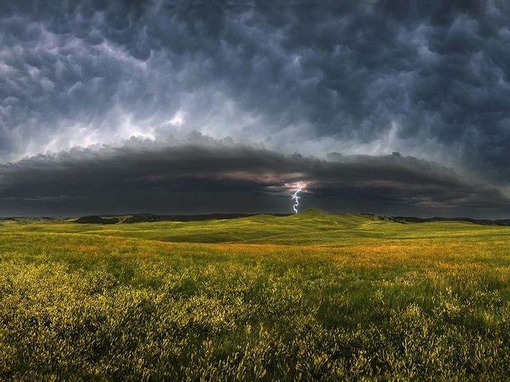 Storm Clouds – South Dakota, United States (2009); Photograph by Patrick Kelley        Photograph by Patrick Kelley