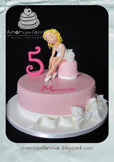 Ballet - by AmorcomFarinha @ CakesDecor.com - cake decorating website