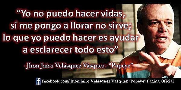 Facebook de alias Popeye sicario de Escobar - Justicia - ELTIEMPO.COM