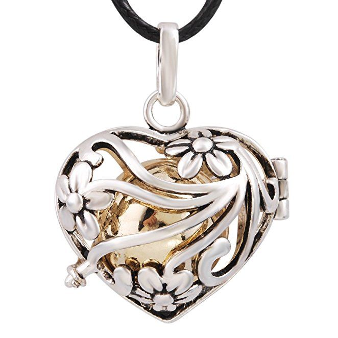Best 25 gifts for pregnant wife ideas on pinterest baby number 1 eudora harmony bola my heart 18mm angle caller bell pregnancy pendant necklace gifts for pregnant wifeheart negle Choice Image