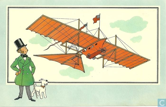 Bandes dessinées - Tintin - Chromo