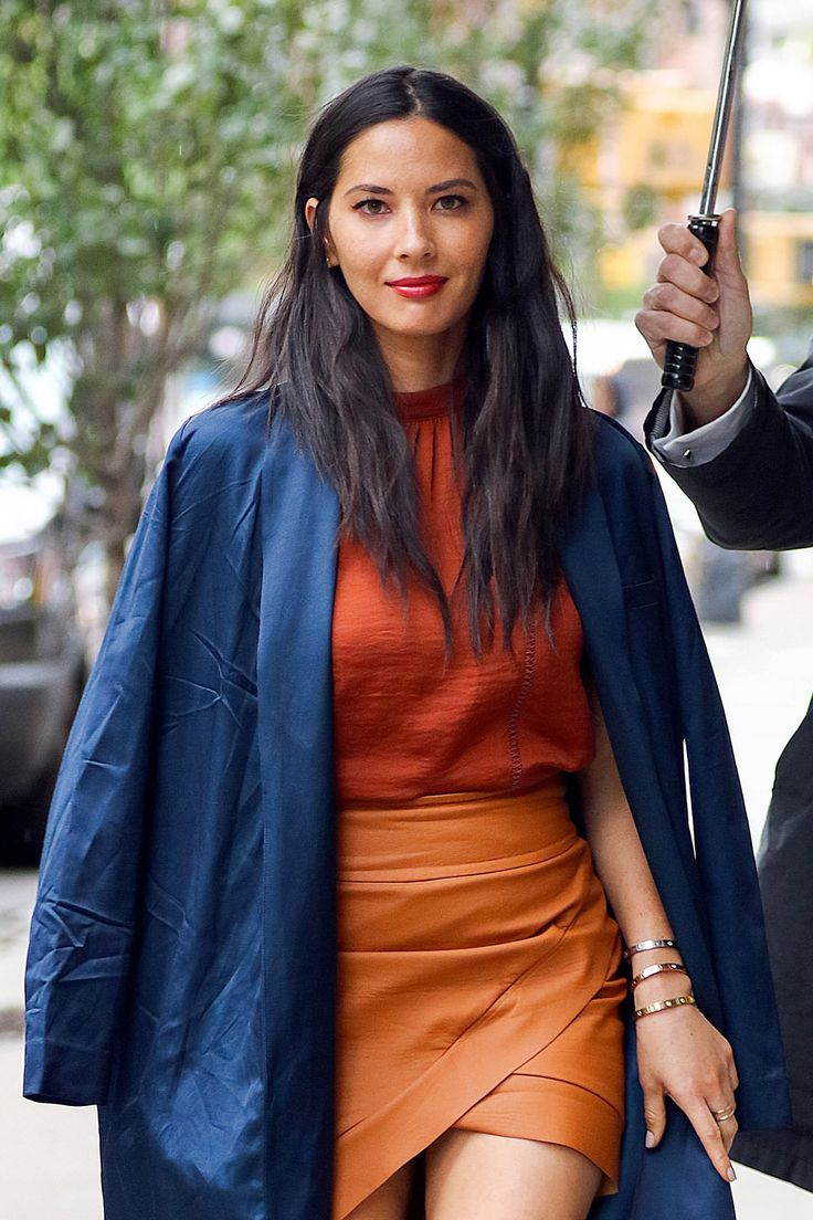 Olivia Munn spotted arriving at a hotel New York City (III)