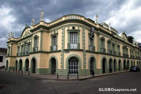 Teatro de Popayán,Cauca COLOMBIA .