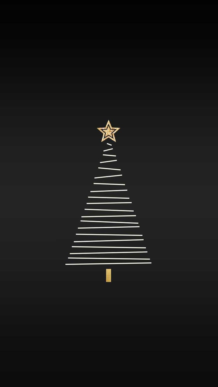 Christmas Tree Vector | iPhone 6s wallpaper