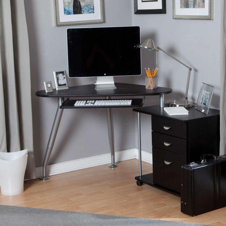 17 best ideas about small corner desk on pinterest study corner desk nook and small house. Black Bedroom Furniture Sets. Home Design Ideas