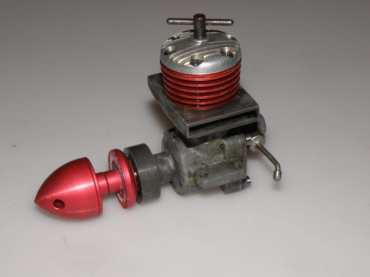 E.D. Racer Mk 1 2.46 c.c. vintage model airplane diesel engine | eBay