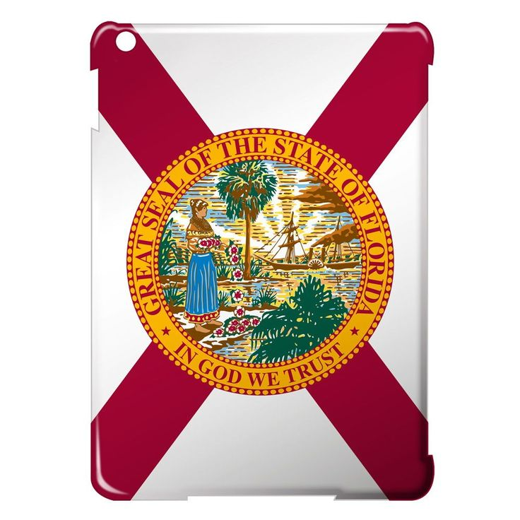 "Checkout our #LicensedGear products FREE SHIPPING + 10% OFF Coupon Code ""Official"" Florida Flag - Ipad Air Case - White - Ipad Air - Florida Flag - Ipad Air Case - White - Ipad Air - Price: $69.99. Buy now at https://officiallylicensedgear.com/florida-flag-ipad-air-case-white-ipad-air"