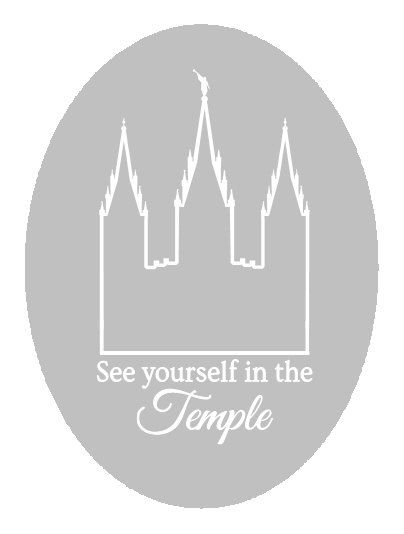 LDS salt lake temple / see yourself in the temple / lds temple / salt lake city temple svg / lds temple svg / temple print / temple cricut