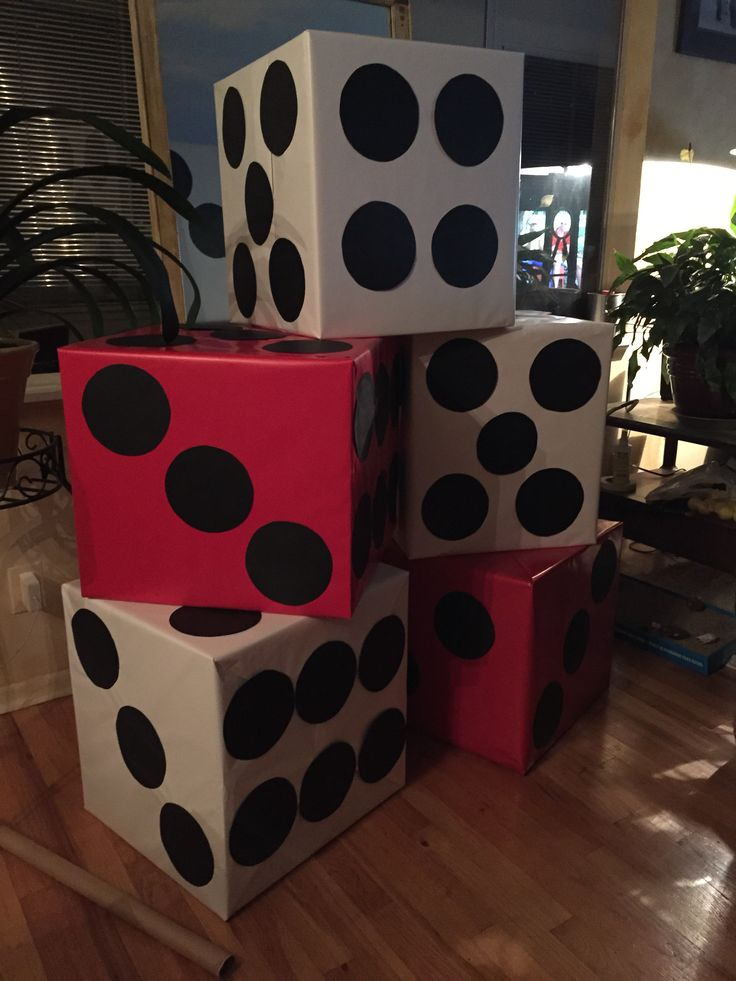 Second Chance Prom: James Bond Casino Royale. Giant Dice