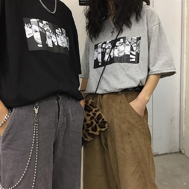 Anime Oversized T Shirt In 2020 Edgy Outfits Aesthetic Clothes
