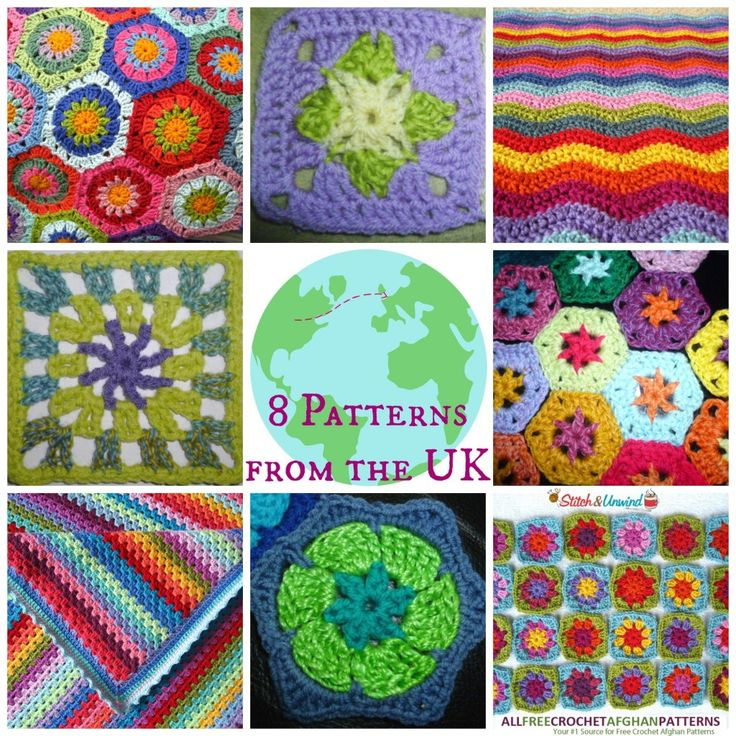 From Across The Pond: 8 Patterns from the UK