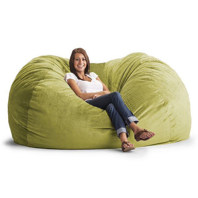 Comfort Research Fuf Extra Large Bean Bag Sofa On Wanelo