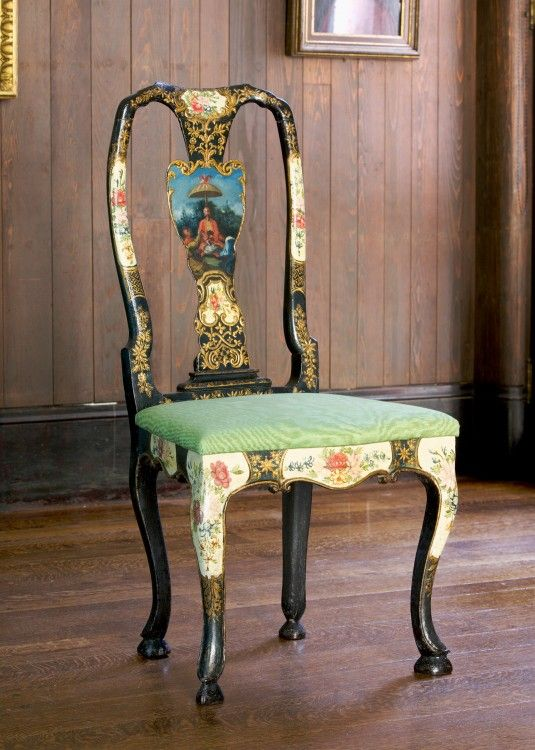 Chairs (twelve), Italian (Rome), Painted And Gilded Wood, 109 Cm High,  Isabella Stewart Gardner Museum