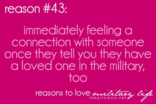 Reasons to love military life