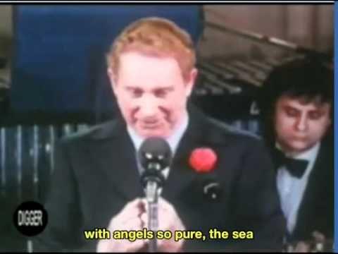 Charles Trenet La Mer English Subtitles
