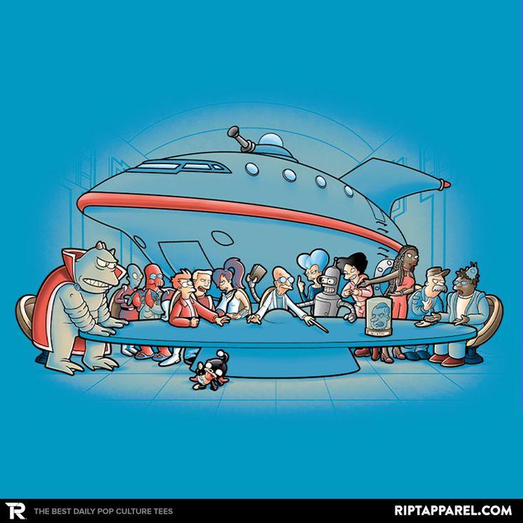 Future Dinner T-Shirt - Futurama T-Shirt is $13 today at Ript!