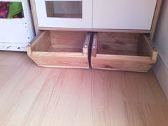 rangement sous la cuisine enfant Ikea