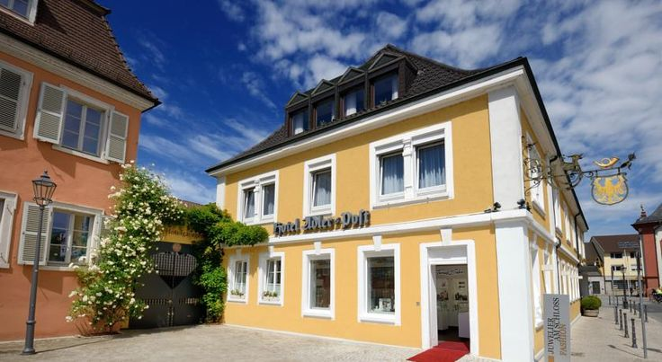 Adler - Post Schwetzingen This 3-star-superior hotel is located in Schwetzingen town centre, 100 metres from the Schlossgarten park in Baden-Württemberg. It is within a 15-minute drive of Heidelberg and Mannheim.  The family-run Hotel Adler Post dates back to 1725.