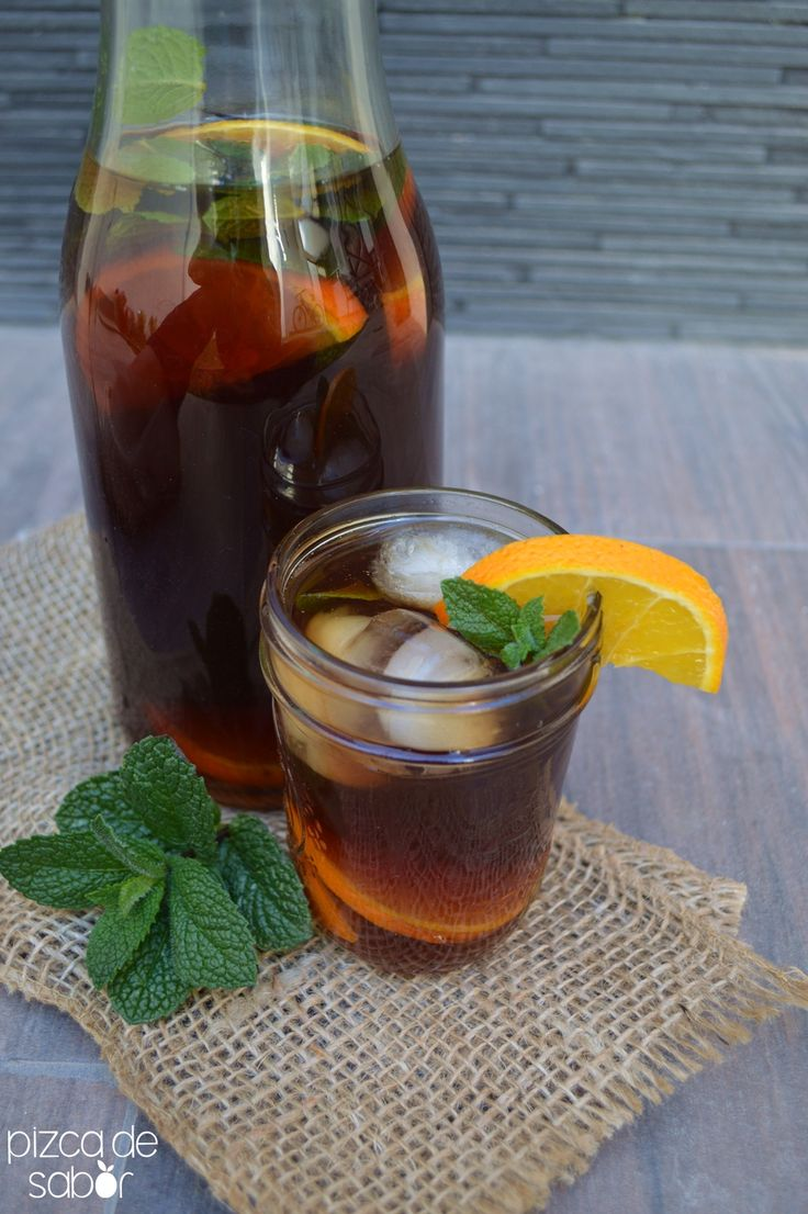 Perfecto para el verano o los días de calor. Este té helado no duro en mi casa más de 20 minutos, súper refrescante y delicioso, te va a encantar.