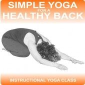 Maintain a strong healthy back with this easy to follow audio yoga class.