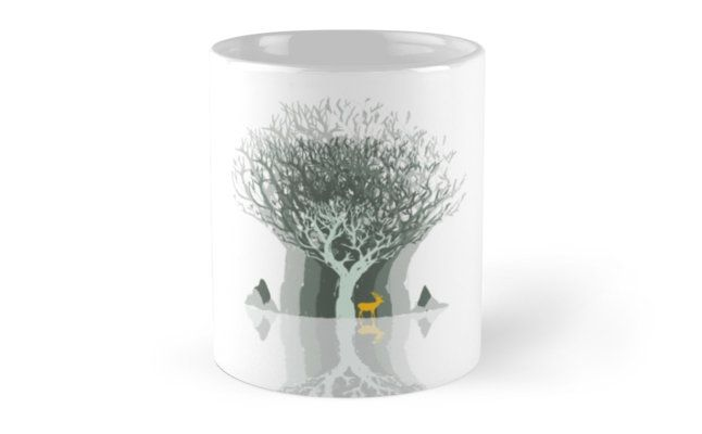 """Frozen Reflection - Daylight"" Mugs by jollybirddesign 