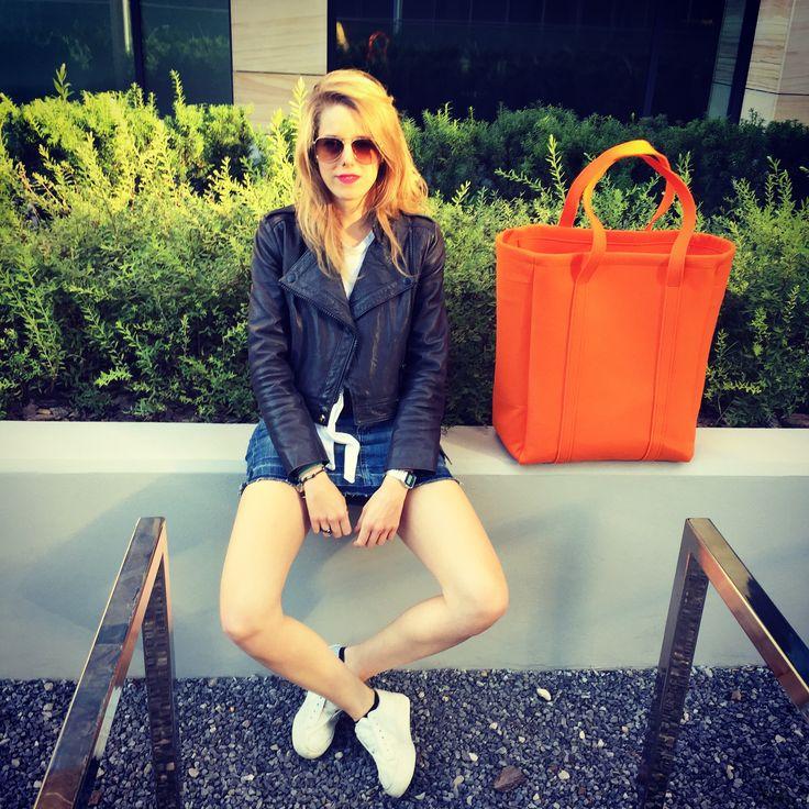 Juicy Orange Oversize Bag by Sweet Revenge