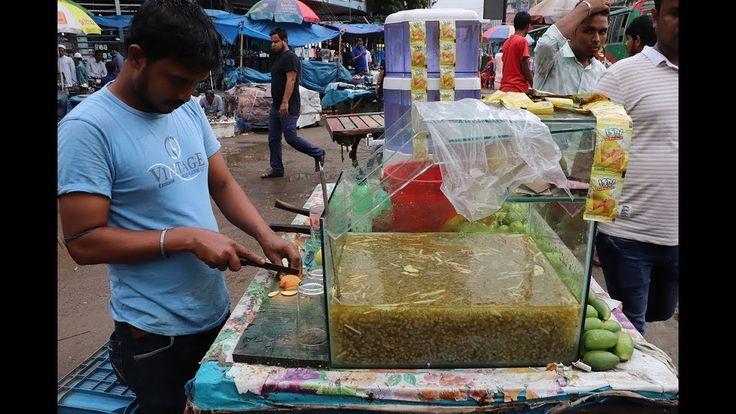 FRUIT NINJA of FRUITS-Amazing Fruits Cutting Skill-Juice-Indian Street F…