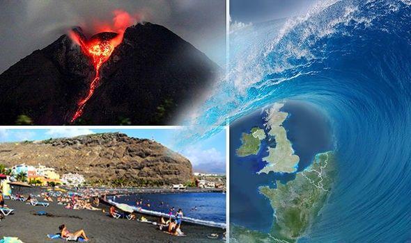 La Palma volcano eruption would trigger a MEGA TSUNAMI that may reach UK and engulf Europe | World | News | Express.co.uk