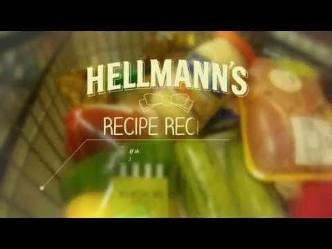 Simple... As every good mktg idea! HELLMANN'S RECIPE RECEIPT