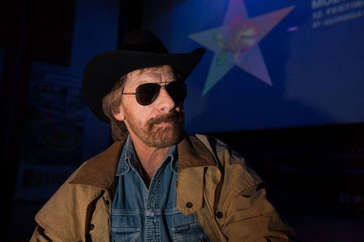 Chuck Noris na festiwalu