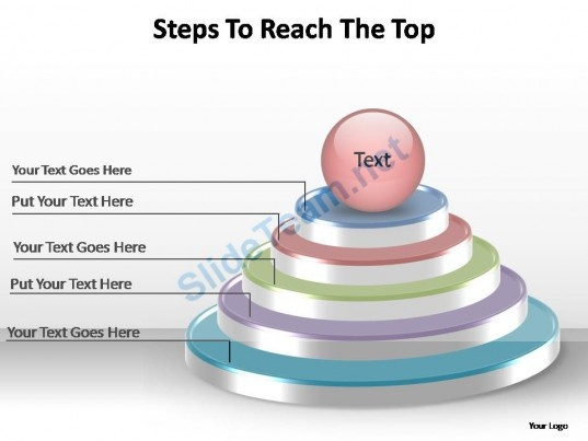 steps_to_reach_the_top_editable_powerpoint_templates_Slide01