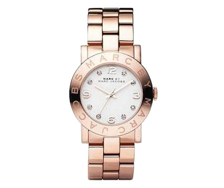 Pin for Later: Iconic Fashion Gifts That'll Please Any Fashion Fan A Marc by Marc Jacobs Watch Marc by Marc Jacobs Amy Rose Gold Ladies Bracelet Watch (£195)