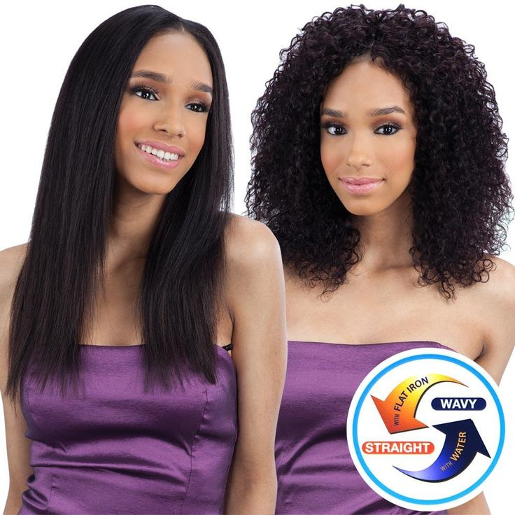 Naked Nature Unprocessed Remy Wet  Wavy Hair Weave