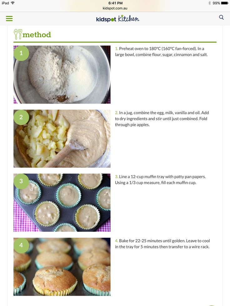 Apple Muffins 2/3