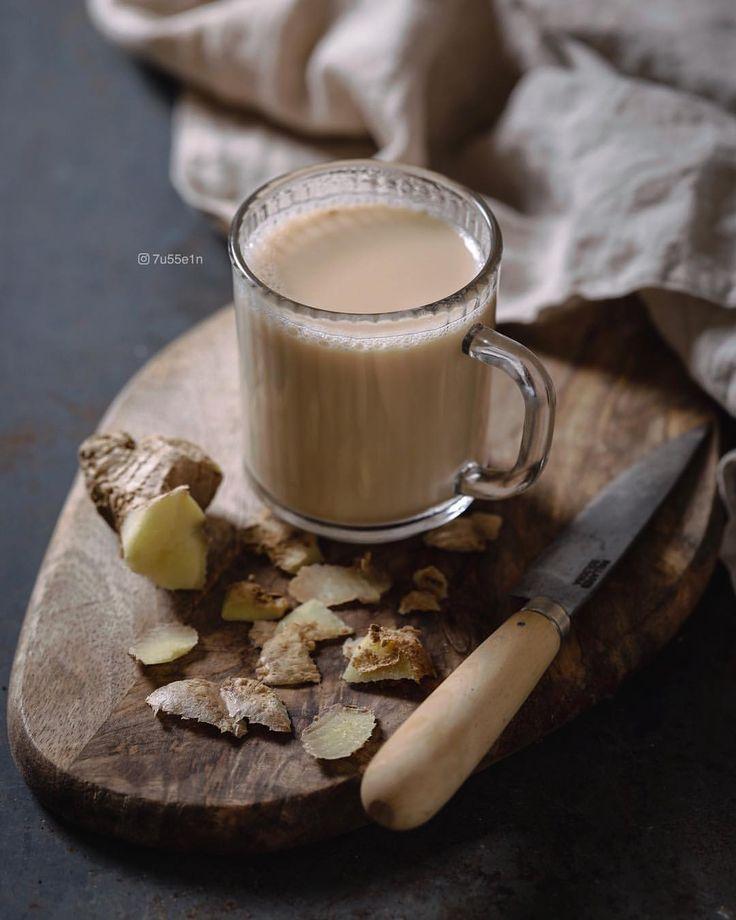 الزنجبيل مع الحليب مع الاجواء الباردة وقته Tableware Glassware Ginger