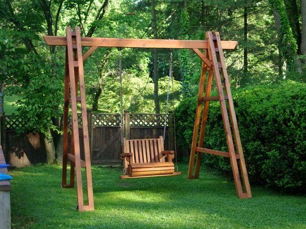 swing for garden design
