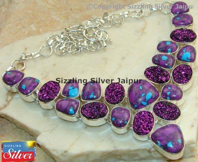 I never heard of purple turquoise.... but I'm LOVING it!!!!!