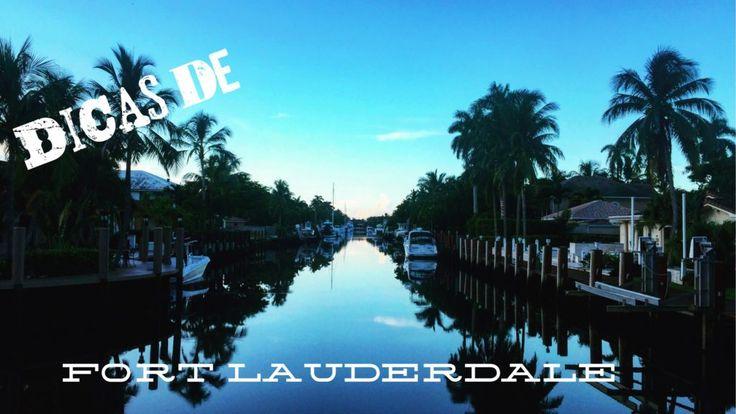 Fort Lauderdale é a cidade onde os vôos da Azul chegam. Fica a 60km de Miami, e é incrivelmente bacana e pouco conhecida pelos brasileiros.  / Fort Lauderdale is the city where the flights from Azul land. It's only 38 milhas from Miami, is incredibly cool and little known to Brazilians.