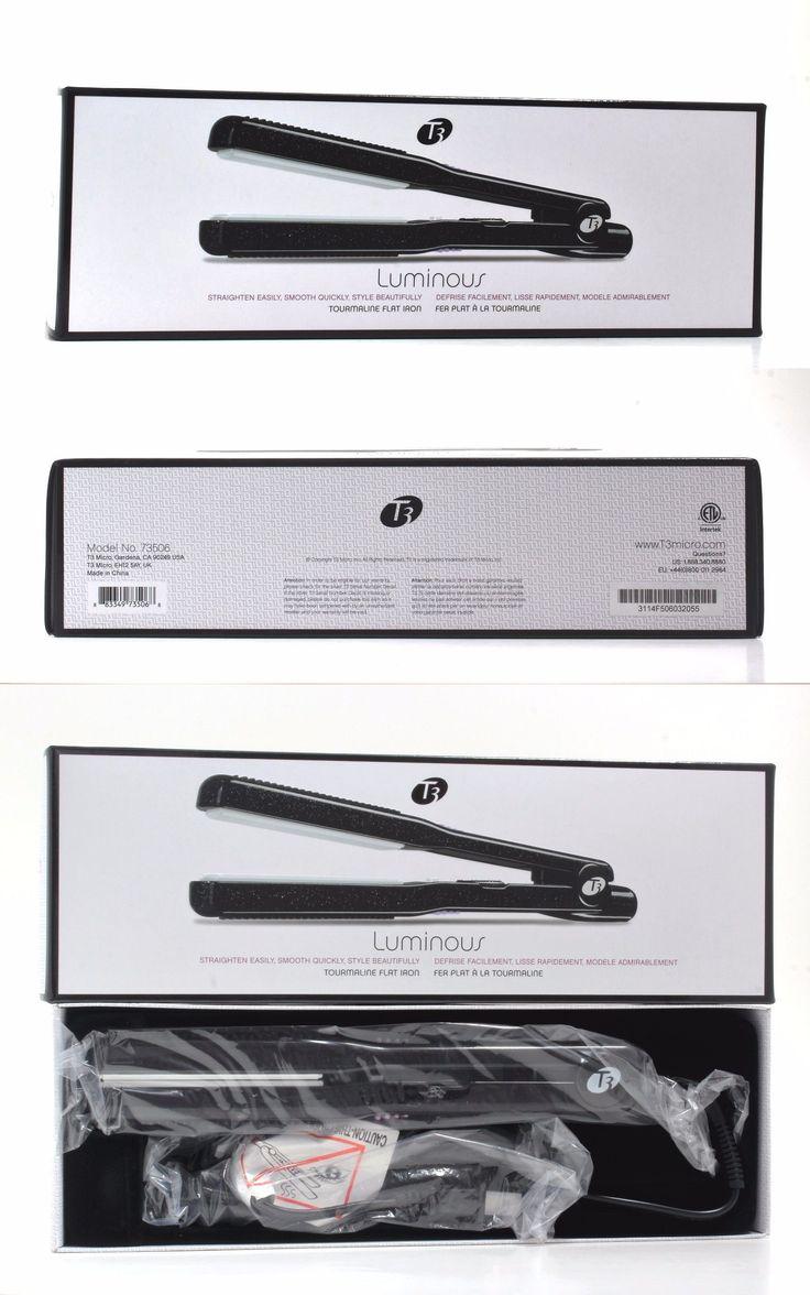 Hair Dryers: T3 Luminous Tourmaline Flat Iron 1 Model No. 73506 - New -> BUY IT NOW ONLY: $49.97 on eBay!