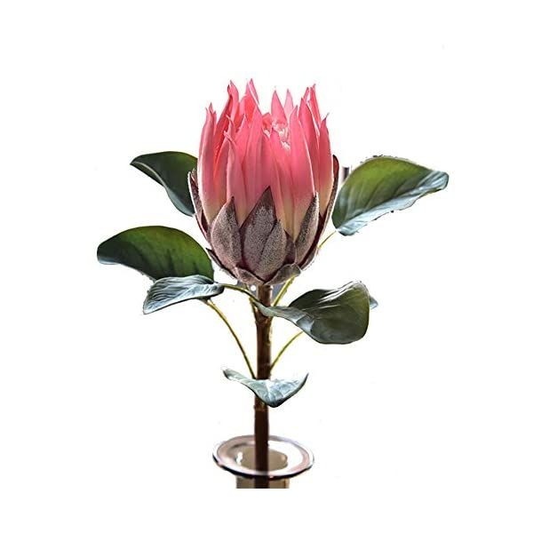 April77 3pcs Artificial Flower Protea Flowers Tropical Plant Decoration Flowers Artificial Protea Cynaroides Silk Flower For Floral Arrangements Home Party Wedd In 2020 Silk Flowers Artificial Flowers Artificial Flowers And Plants