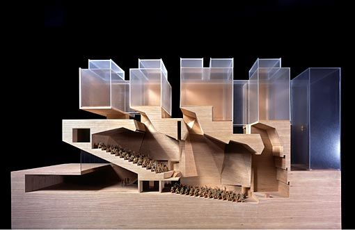 Grafton Architects - Bocconi University, Milan 2008. One of my favorite building sections. Via.