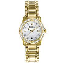 Bulova Women's Diamond Watch 98R135