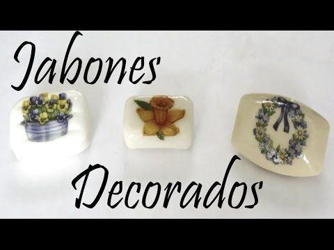 Como decorar Jabones / Decorated Soaps - MikoSaa - YouTube