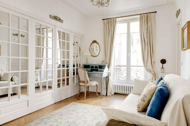 stunning vintage modern living room honeysuckle life   small but beautiful & vintage paris apartment - white ...